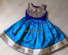 Mirror Blouse Kids Lehenga - Indian Dresses