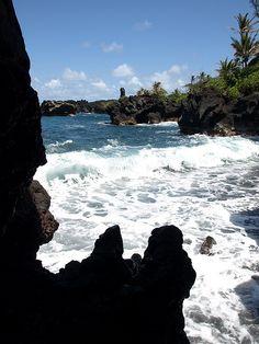 Wainapanapa state park, Maui