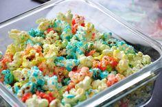 Colored Popcorn Recipe - Food.com: Food.com