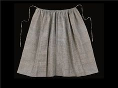 Female Dress - Petticoats & Aprons