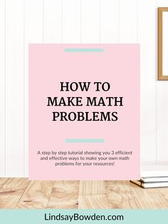 Do you enjoy making your own math resources, but HATE creating new questions or problems to go in your resources? Creating new problems from scratch can take a ton of time and it is probably time you don't have. I've got you! In this post I will show you 3 ways to efficiently find and recreate questions for math resources. Math Vocabulary, Maths Algebra, Math Lesson Plans, Math Lessons, Math Strategies, Teacher Resources, Math Stations, Math Centers, Secondary Math