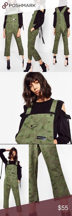 Nwts Zara camouflage overalls XS NWTS Zara camouflage overalls size XS. Zara Other
