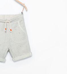 ZARA - KIDS - Bermuda shorts with pocket detail