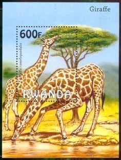 Stamp sheet, Rwanda