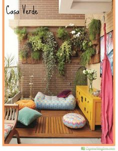 jardins verticais apartamento - Pesquisa Google