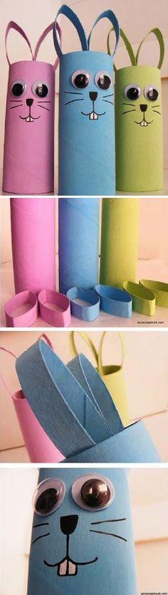 Reuse toilet paper rolls
