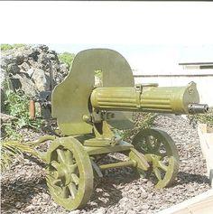 La Batalla por Madrid -Nov.1936 -Jul.1937   Mundo Historia Ametralladora Maxim M1910/28