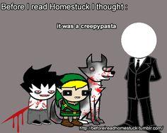 Before I read Homestuck