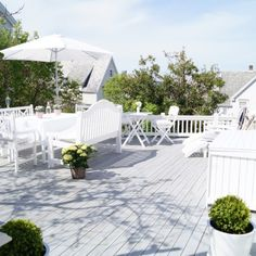 🌟Tante S!fr@ loves this📌🌟 Outdoor Rooms, Outdoor Gardens, Outdoor Living, Outdoor Decor, Outdoor Ideas, Fresco, Door Decks, Scandinavian Garden, Concrete Pool