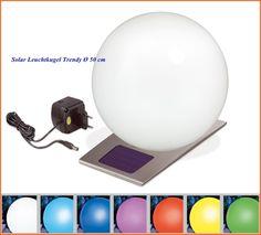 Solar Leuchtkugel Trendy 50 cm für Innen- und Außenbereich 106046