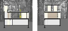 Galeria - Cabanas Empilhadas / Johnsen Schmaling Architects - 13