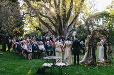 A MILTON PARK WEDDING: SIGRUN   JURE  The tree in the back and surrounds looks similar to our ceremony venue