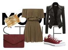 """Untitled #14"" by orsolyapanna on Polyvore featuring Converse and Dorothy Perkins"