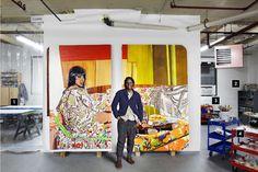 Artsy Editorial: In The Studio: Mickalene Thomas