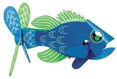 Fish Whirligig Plan