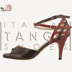 """Susy"" model in black and red leather customized by an our customer  Now available at http://www.italiantangoshoes.com/shop/en/women/281-susy.html"
