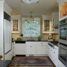 Kitchen U-shaped Kitchen Design, Pictures, Remodel, Decor and Ideas - page 5