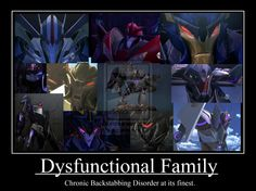 LoL at least Soundwave is loyal to Megatron! And i suppose Dreadwing is too :)