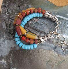 Doux Sons Exaltés : un bracelet shabby boho !!!!! par annemarietollet sur Etsy https://www.etsy.com/be-fr/listing/285425199/doux-sons-exaltes-un-bracelet-shabby