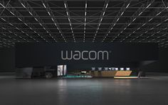 * WACOM * Exhibition stand * on Behance