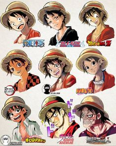A Lot Of manga And Anime Drawing Styles One Piece Manga, One Piece Fan Art, One Piece Ace, One Piece Images, Manga Anime, Anime One, Otaku Anime, Anime Naruto, Naruto Girls