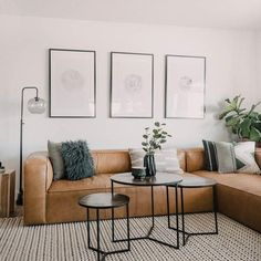 Home Interior Decoration Tips to pick the perfect sofa or sectional for your home.Home Interior Decoration Tips to pick the perfect sofa or sectional for your home Home Living Room, Apartment Living, Interior Design Living Room, Living Room Designs, Living Room Decor, Dining Room, Plants In Living Room, Scandi Living Room, Modern Apartment Decor