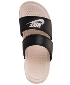 promo code f3134 8bca7 Nike Women s Benassi Duo Ultra Slide Sandals from Finish Line   Reviews -  Finish Line Athletic Sneakers - Shoes - Macy s
