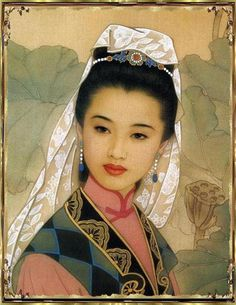 By Zhao Guojing (赵国经) and Wang Meifang (王美芳), from China - oil painting - [Detail]