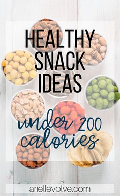 Struggling with thinking of new healthy snack ideas? All you need to do is get creative! Here are some healthy snack ideas to get you started, all under 200 calories! Veggie Straws, Veggie Snacks, Easy Snacks, Yummy Snacks, Healthy Snacks, Snack Recipes, Healthy Breakfasts, Protein Snacks, High Protein