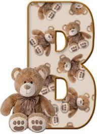 Image result for bears letters alphabet