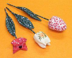 Varrótanfolyam: Textil tulipánok (textil virág varrás)
