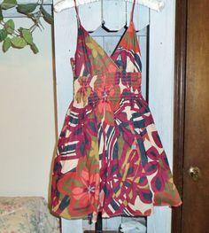 DRESS Xhilaration Sundress Size Junior Ladies Size Extra Small XS euc Worn Once #Xhilaration #Sundress #Casual