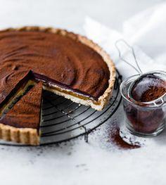 Schoko-Karamell-Tarte - Alle lieben Schokoladenkuchen! - [LIVING AT HOME]