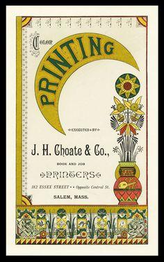 J. H. Choate & Company, 1883
