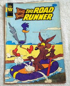 Beep Beep The Road Runner Comic Book No. 94 1980 by LoveNStuff14, $3.00
