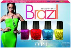 OPI Brazil Beach Sandies Liquid Sand Mini Pack from the OPI Brazil Collection for Spring/Summer 2014! (Click through to see more shades & the official press release!)