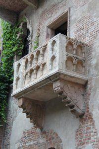 Verona. Le balcon de Roméo et Juliette