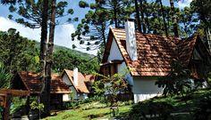 Provence Cottage & Bistrô conta com seis chalés em Monte Verde