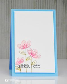 Scribbled Flowers | Clearly Besotted Stamps
