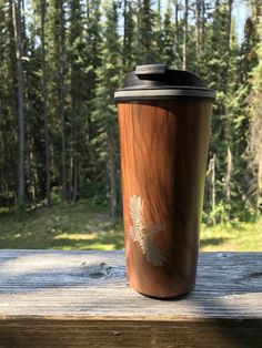 Our new Leaf of life & Eagles first flight travel mugs have arrived! Their stainless steel body was created to keep cleaning easy, while the outer scheme w New Leaf, Travel Mug, Mugs, Accessories, Tumblers, Mug, Cups, Jewelry Accessories