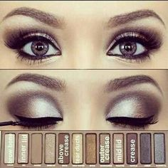 Urban Decay NAKED Palette... product placement is key!! #lookandlearn