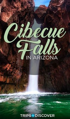 This Hiking Trail Leads to the Secluded Cibecue Falls in Arizona A beautiful cascading waterfall awaits you at the end of this hike. Arizona Road Trip, Arizona Travel, Road Trip Usa, Hiking In Arizona, Colorado Hiking, Vacation Trips, Vacation Spots, Vacations, Travel Writing Books