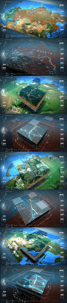 TRANSNEFT INTERACTIVE MAP by Jedi88.deviantart.com on @deviantART