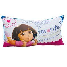 Almohada Body Pillow Dora Floral #Recamara  #Almohadasdecorativas #Niñas #Hogar #IntimaHogar  #Doralaexploradora #Decoracion