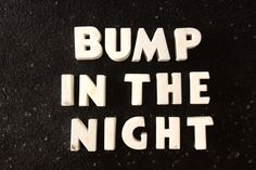 Vintage White Ceramic Push Pins Bump in the Night (c.1940s) by ThirdShift - fun Halloween bulletin board decor!  #vintagehalloween #thirdshift3 #thirdshiftvintage