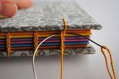Prácticos, lindos y, además, muy fáciles de hacer. Mirá el paso a paso de estos cuadernitos hechos con encuadernación copta.