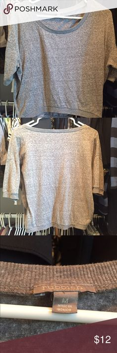 Light sweater top by Rubbish Tan top by Rubbish. Knit material. Soft. Rubbish Tops Tees - Short Sleeve