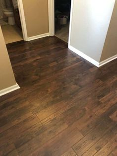 We recently installed Pergo Crest Ridge Hickory Luxury Vinyl in our dog friendly home and wanted to share what our first impressions are! Vinyl Hardwood Flooring, Vinyl Flooring Kitchen, Hickory Flooring, Luxury Vinyl Tile Flooring, Wood Vinyl, Luxury Vinyl Plank, Living Room Vinyl Flooring, Wood Plank Flooring, Kitchen Vinyl