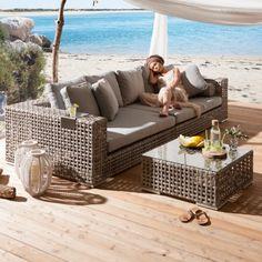 bequeme-Lounge-Möbel-für-Draußen-Wohnidee | Balkon | Pinterest ...