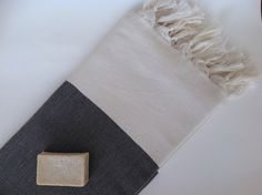 Elegant Organic Turkish Towel, Peshtemal, bath, spa, hammam, Natural Sof cotton, Gift for father, Handwoven, Black , valentine's day ,gift by TheAnatolian on Etsy https://www.etsy.com/ca/listing/292656161/elegant-organic-turkish-towel-peshtemal
